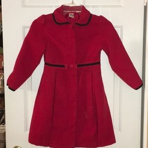 Girl's 5/6 dress coat